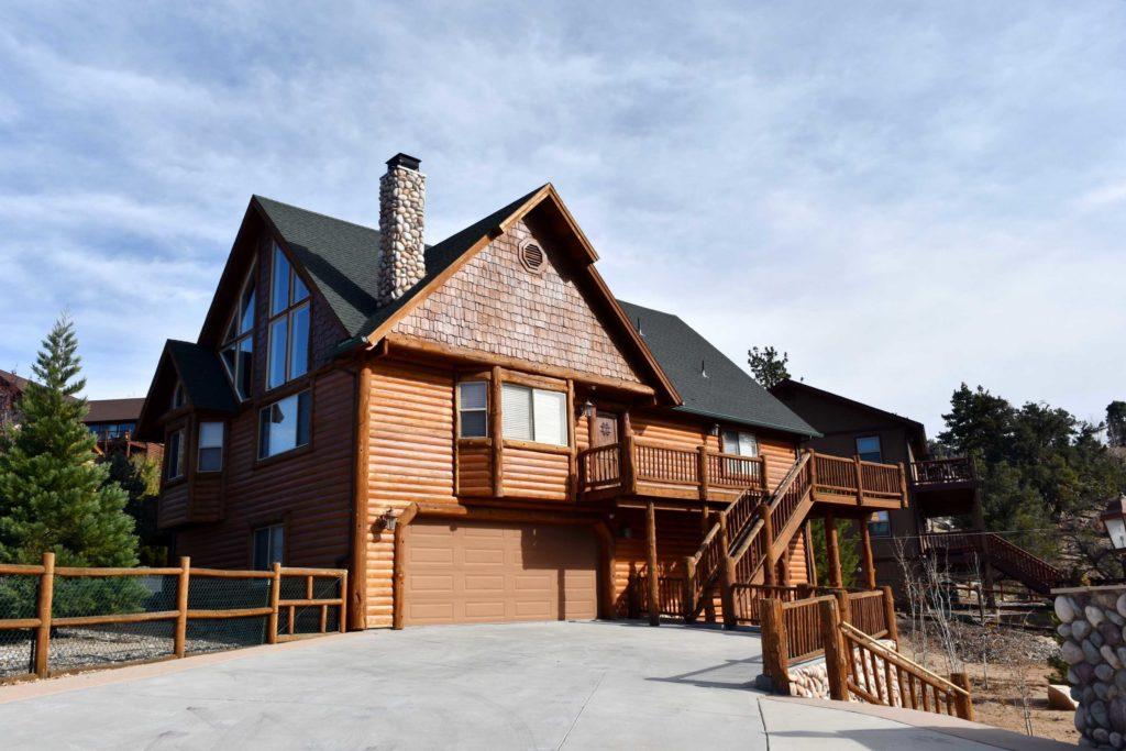 Big Bear Lakefront Real Estate Cabin Style