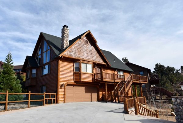 Big Bear Lakefront Real Estate Cabin Style