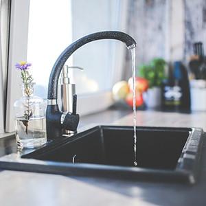 leaking sink