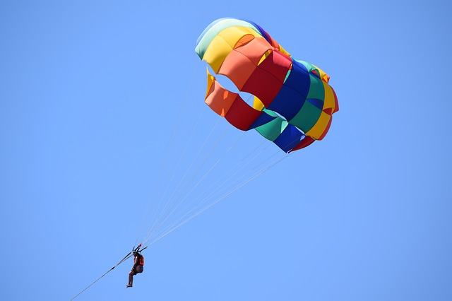 parasailing in big bear