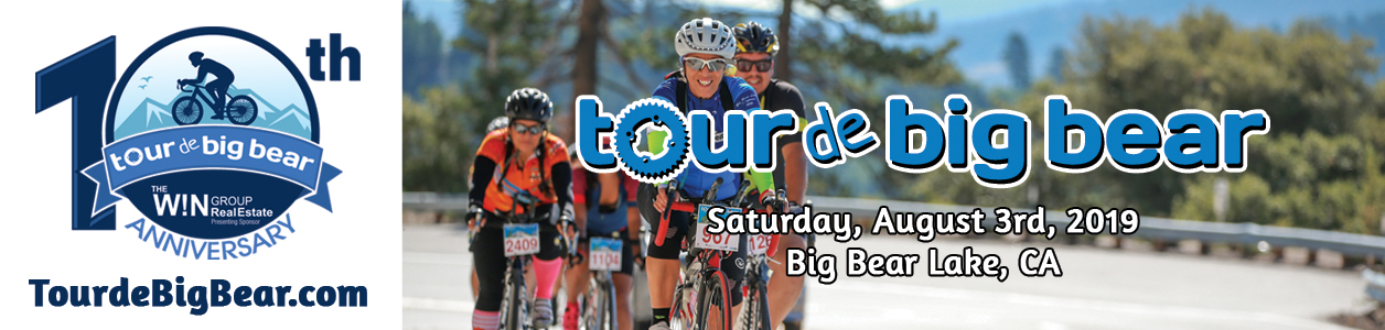 The W!N Group is proud to be the Presenting Sponsor of the Tour de Big Bear, happening on August 3, 2019.