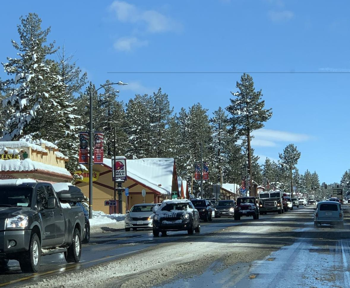 Snow Plowing in the City of Big Bear Lake